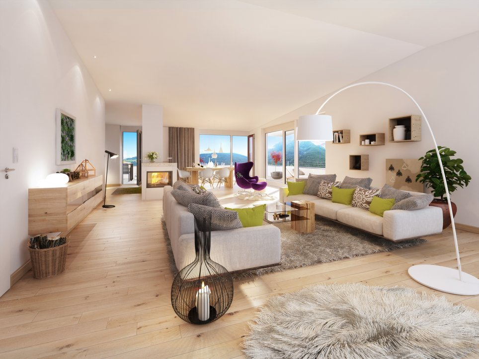 151 Carisma Telfes Interior Wohnraum
