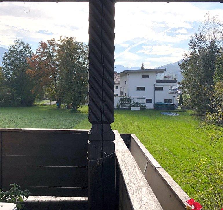 Blick Balkon Obergeschoss nach Osten