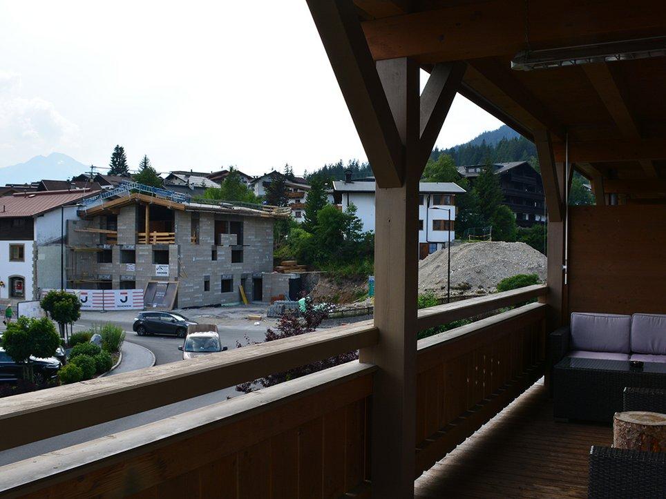 Balkon-Wohnzimmer
